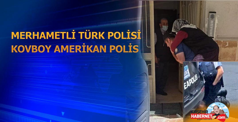 MERHAMETLİ TÜRK POLİSİ KOVBOY AMERİKAN POLİS