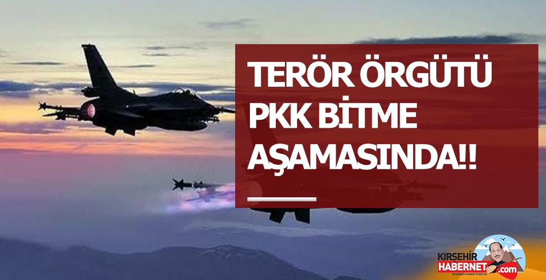 ⚠️ TERÖR ÖRGÜTÜ PKK BİTME AŞAMASINDA‼️