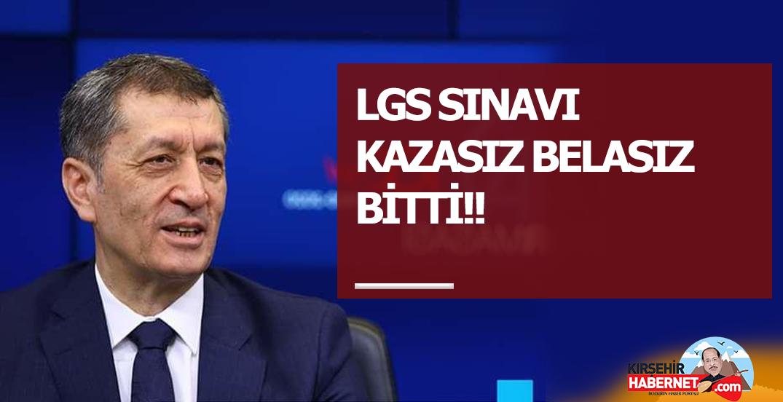 LGS SINAVI KAZASIZ BELASIZ BİTTİ!!