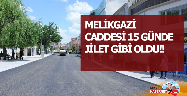 MELİKGAZİ CADDESİ 15 GÜNDE JİLET GİBİ OLDU!!