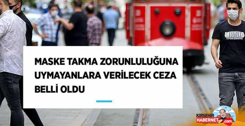 Maskenizi Takın!! Aksi halde 900 TL ceza!!