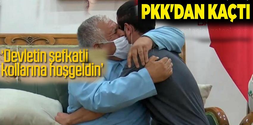 PKK'dan KAÇTI! AİLESİNE KAVUŞTU!!