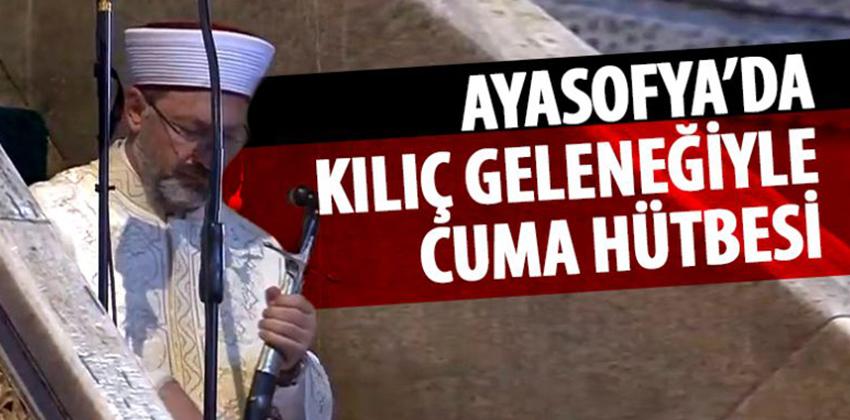 AYASOFYA KILIÇ HAKKINA DÖNDÜ!!