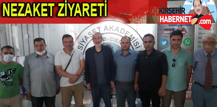 MİKAİL ARSLAN MSA-DER & KIRŞEHİR HABERNETİ ZİYÂRET ETTİ