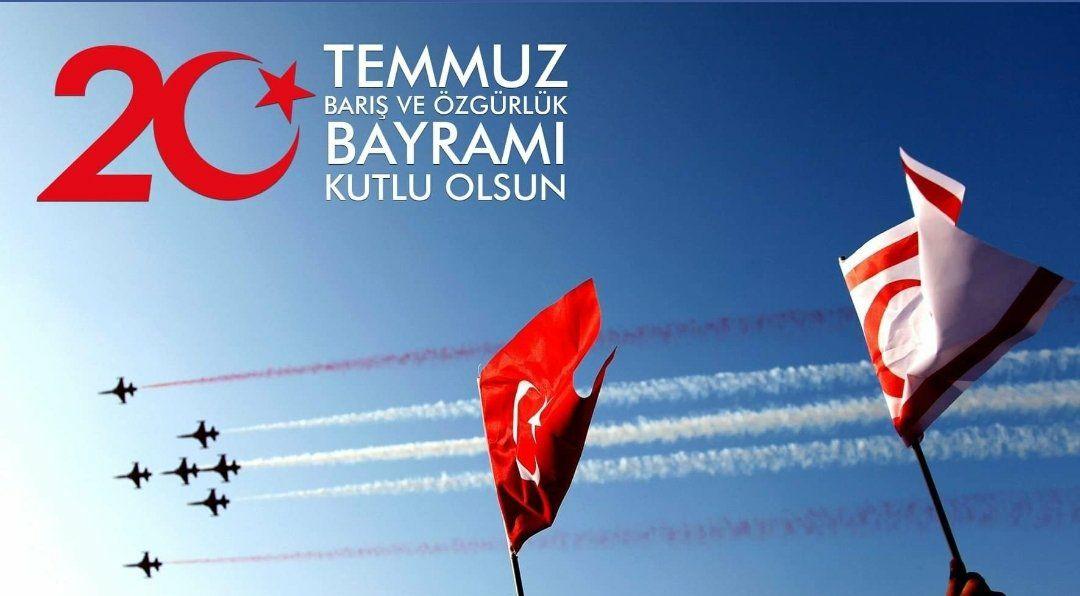 Türk'ün tarihteki önemli başarılarından biri daha; 20 Temmuz 1974