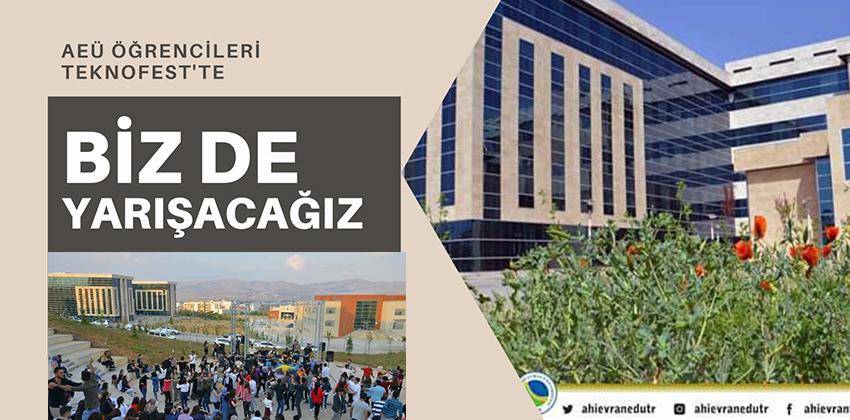 AEÜ ÖĞRENCİLERİ TEKNOFEST'TE !