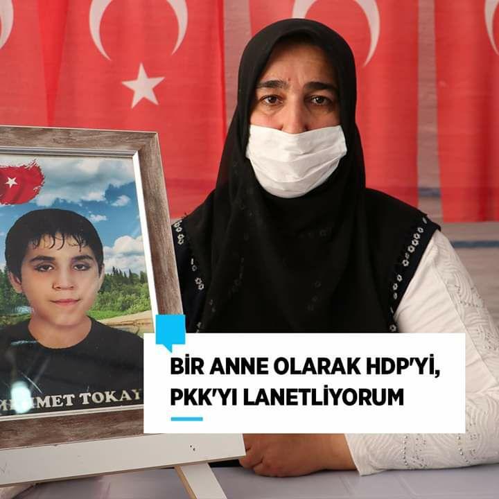#DiyarbakırAnneleri'nin #EvlatNöbeti 306. gününde devam ediyor