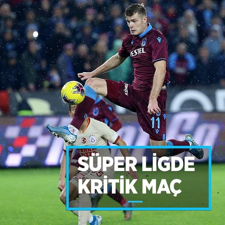 #Galatasaray kritik karşılaşmada #Trabzonspor'u konuk edecek!!