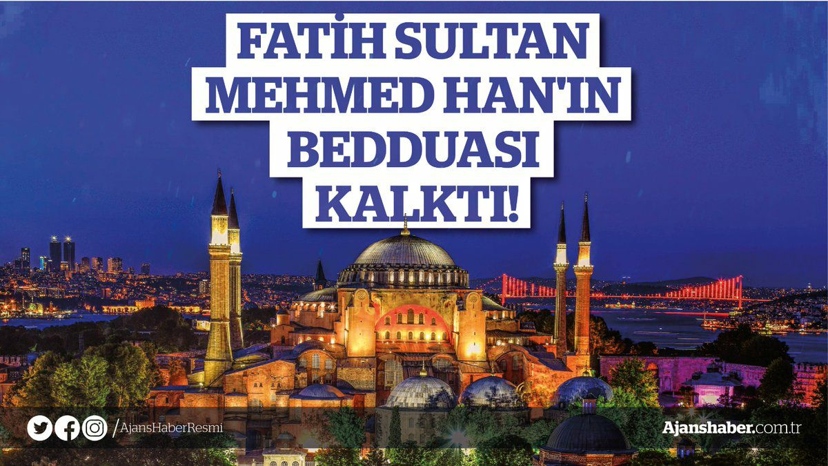 FETHİN SEMBOLÜ AYASOFYA İBADETE AÇILDI!!