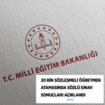 """Milli Eğitim Bakanlığınca (MEB), 20 bin """"SÖZLEŞMELİ ÖĞRETMEN"""""""