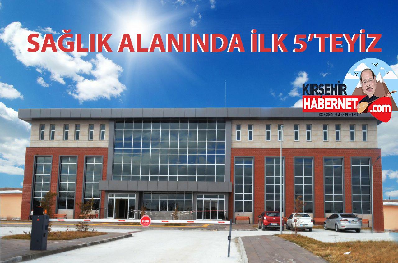 Kırşehir Sağlıkta İlk 5'te Yer Aldı!!