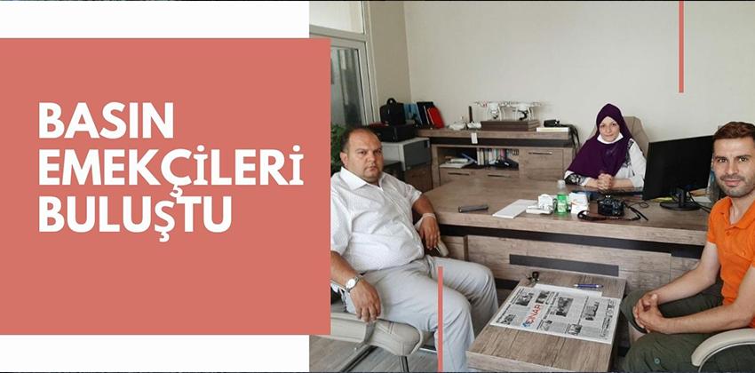 KIRŞEHİR HABERNET ÇINAR GAZETESİNİ ZİYÂRET ETTİ !!