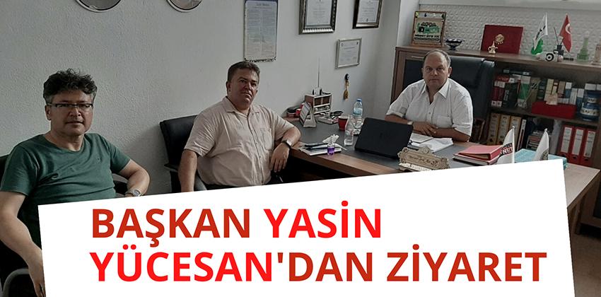 Şube Başkan Yardımcısı Recep Kadir TURPÇU'dan Ziyaret