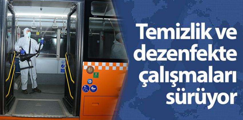 DEZENFEKTE İŞLEMLERİ ARTARAK DEVAM EDİYOR !!