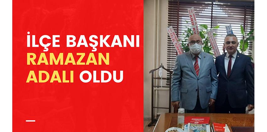 MHP KIRŞEHİR İLÇE BAŞKANI RAMAZAN ADALI OLDU!!