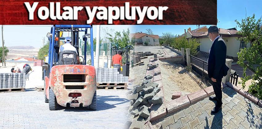 DEĞİRMENDERE MEVKİİ YOLLARI YAPILIYOR !!