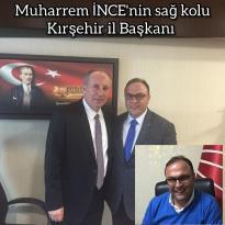 Cumhuriyet Halk Partisi Kırşehir Eski Ilçe başkanı sayın Selçuk KORKMAZ