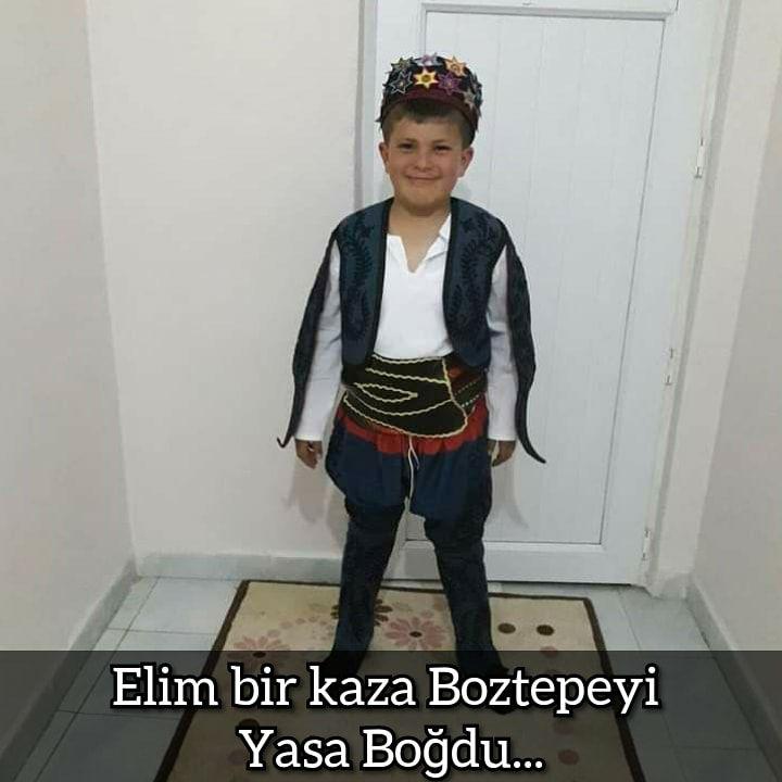 ELİM BİR KAZA BOZTEPEYİ YASA BOĞDU !!