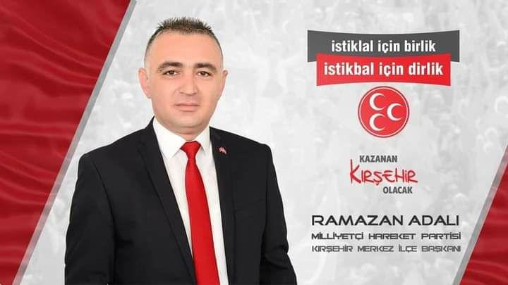 MHP MERKEZ İLÇE BAŞKANI RAMAZAN ADALI OLDU !!