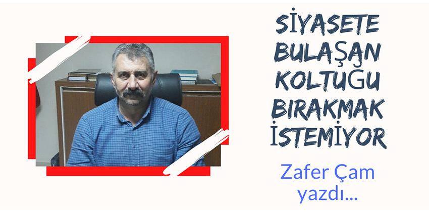 SİYASETE BULAŞAN, KOLTUĞU BIRAKMAK İSTEMİYOR!!