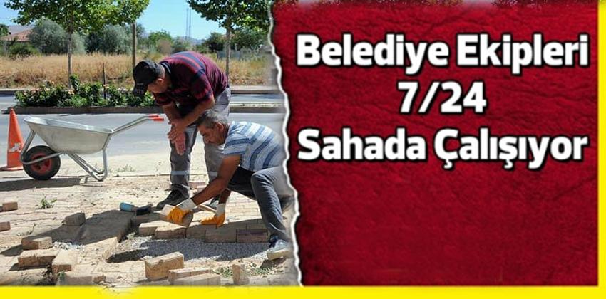 KIRŞEHİR BELEDİYESİ ALT YAPI ve ÜST YAPI ÇALIŞMALARI DEVAM EDİYOR !!