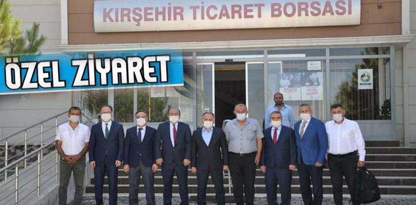 TÜRKİYE ŞEKER FABRİKASI GENEL MÜDÜRÜ TİCARET BORSASINI ZİYÂRET ETTİ!!