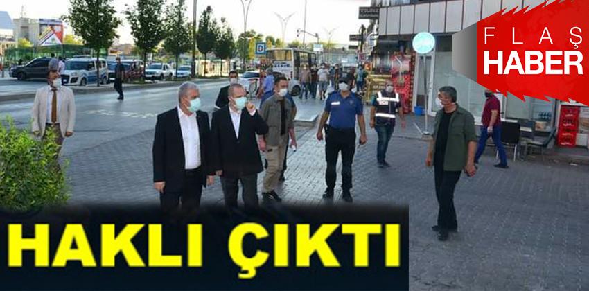 VALİ BEY, CORONAVİRÜS TEDBIRLERİNDE HAKLI ÇIKTI !!