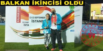 KIRŞEHİR GSM SPORCUSU BALKAN ŞAMPIYONASINDA 2. OLDU!!