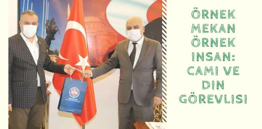 DİYANET-SEN İL BAŞKANI MESAJI CAMİLER ve DİN GÖREVLİLERİ HAFTASI !!