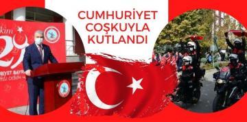 CUMHURİYET COŞKUYLA KUTLANDI !!