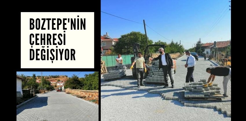 BOZTEPE'NİN ÇEHRESİ DEĞİŞİYOR !!