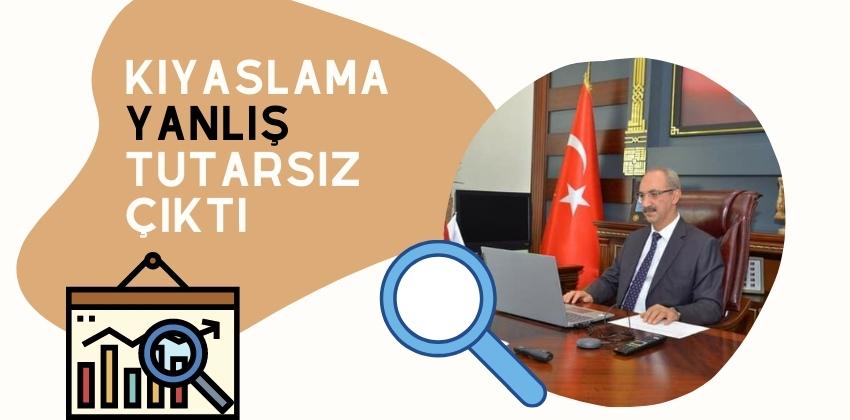 KIYASLAMA YANLIŞ TUTARSIZ ÇIKTI!!