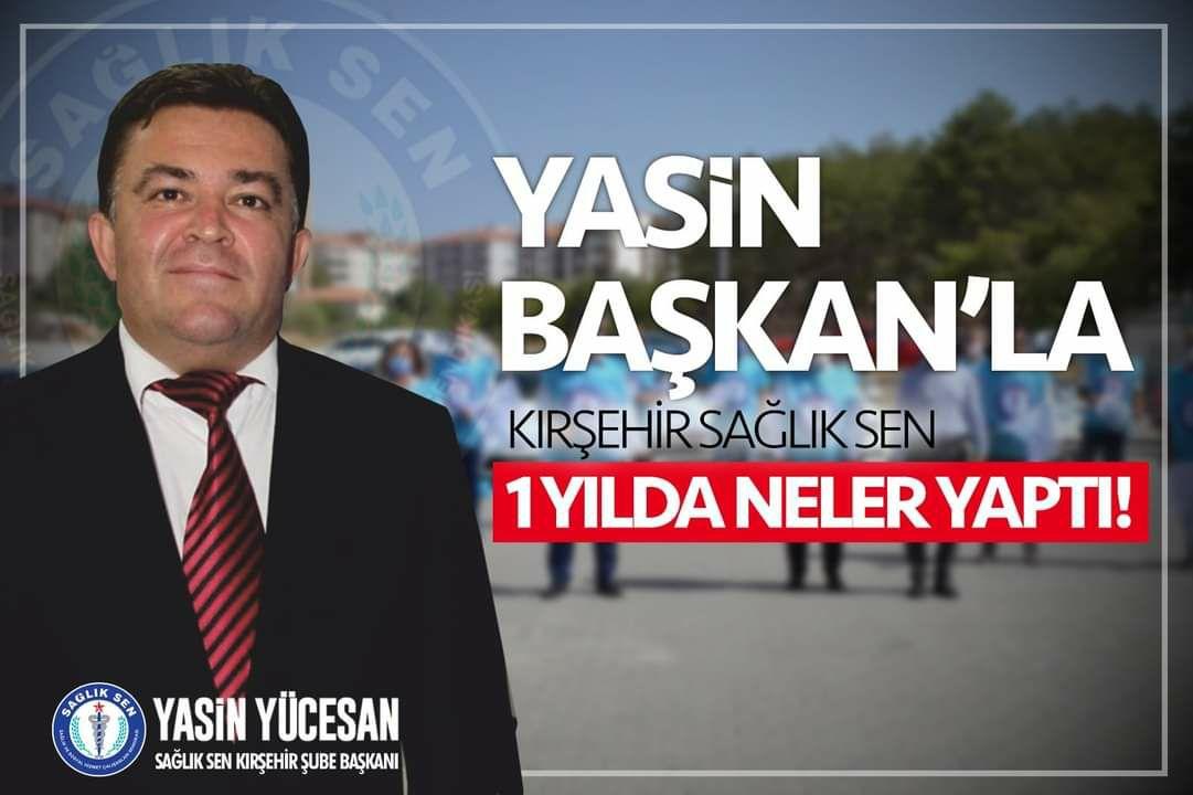 YASİN BAŞKAN'IN BİR YILI !!