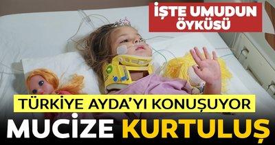 AYDA BEBEK, 91 SAAT HAYATA TUTUNDU !! ANNE DEDİ !! KÖFTE AYRAN DEDİ !