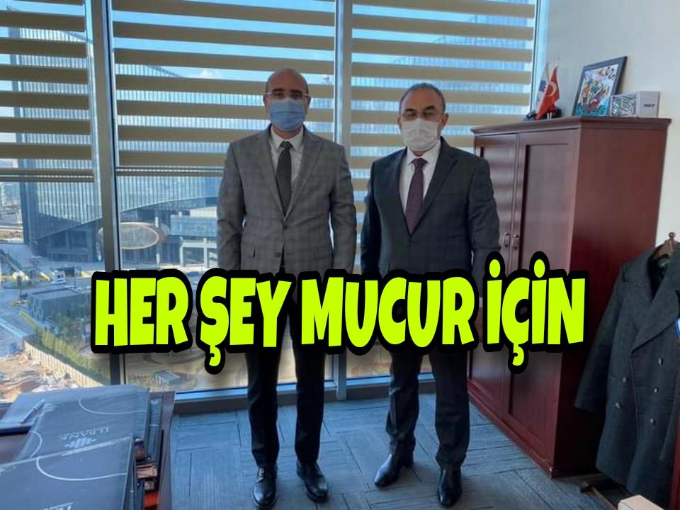 ATILGAN BAŞKAN MUCUR İÇİN BAŞKENTTE !!