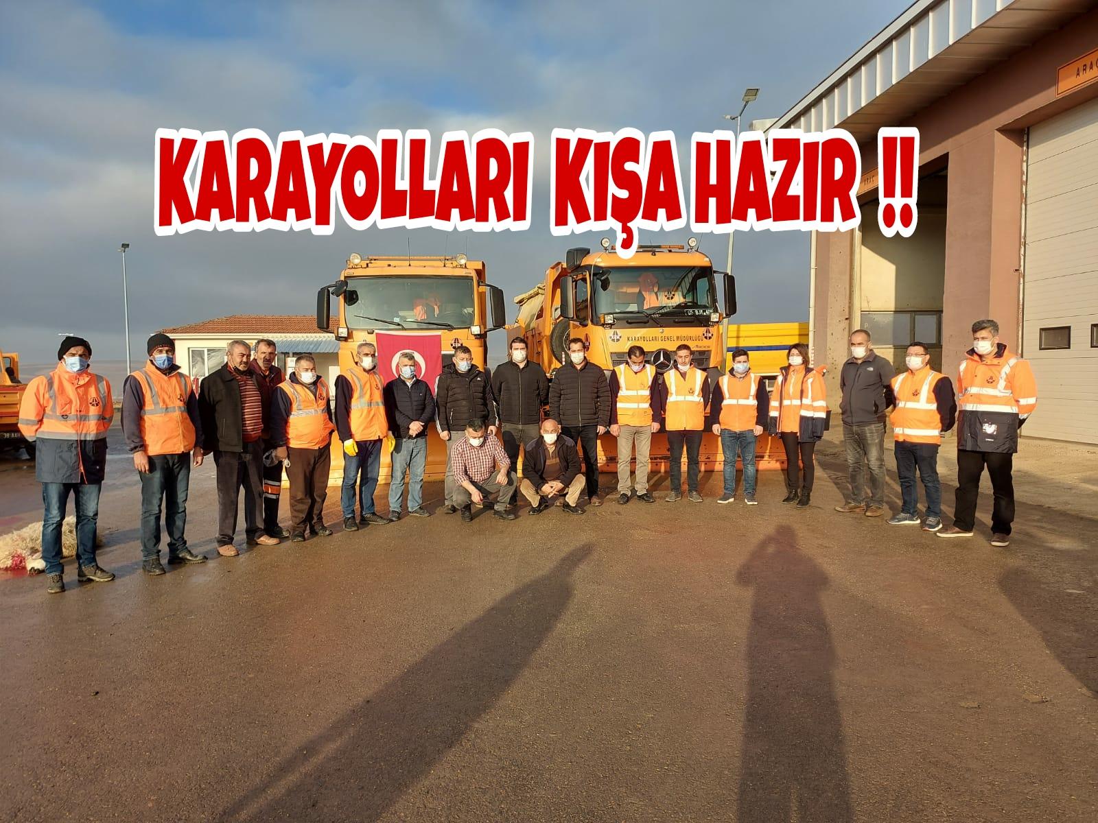 61. ŞUBEMİZ KARLA MÜCADELEYE HAZIR !!