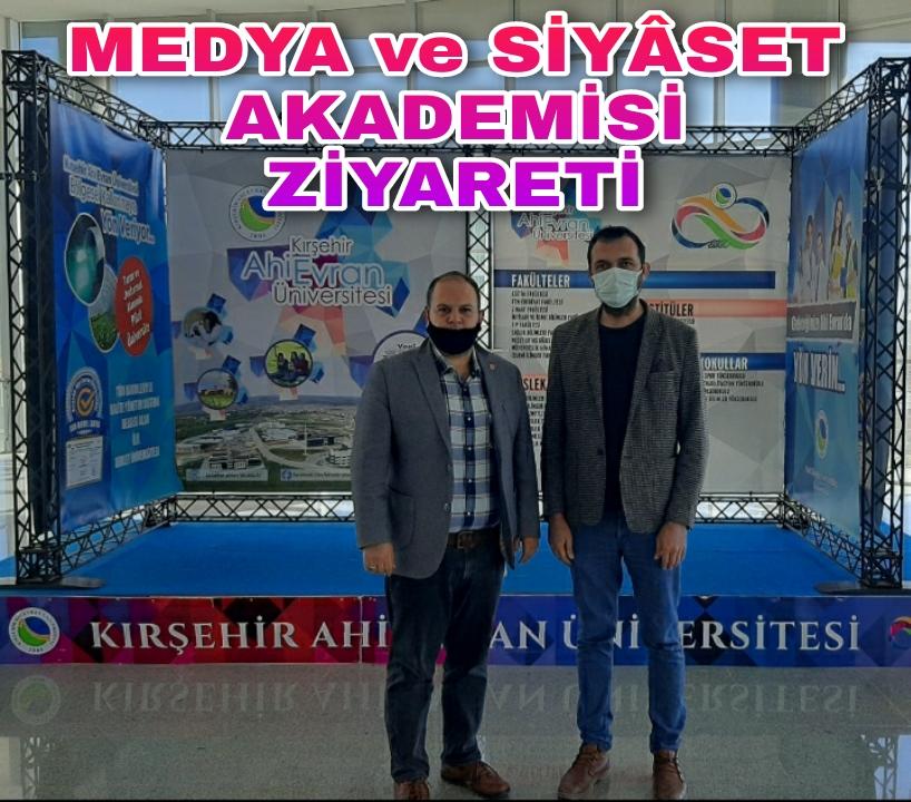 MEDYA ve SİYÂSET AKADEMİSİ KONFERANS / SEMİNERLERİ AEÜ