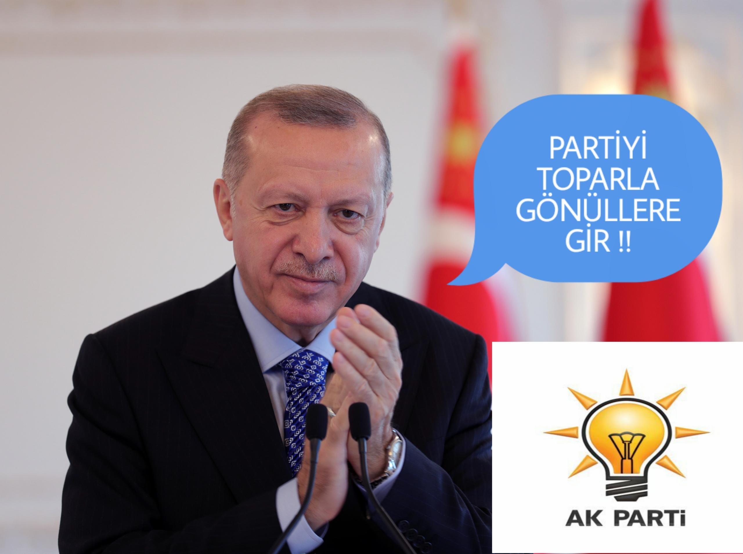 TEŞKILÂTÇI BAŞKAN ERDOĞAN KARARINI VERECEK !!