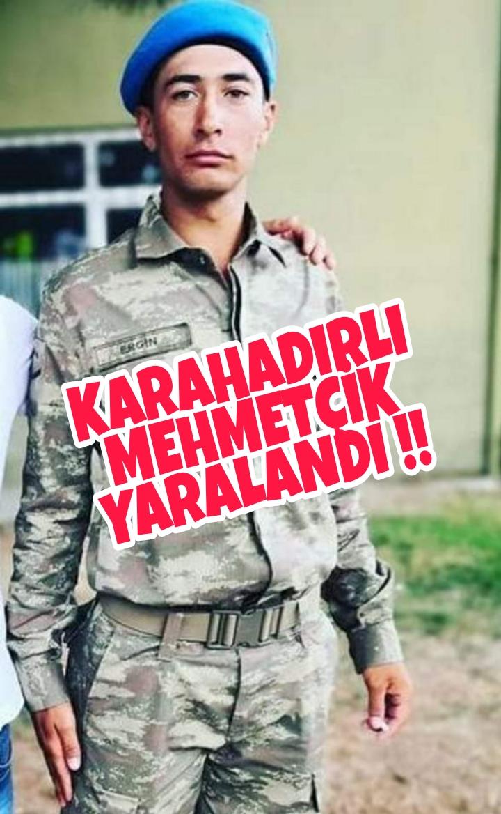 KARAHADIRLI YIĞİDİMİZ YARALANDI !!