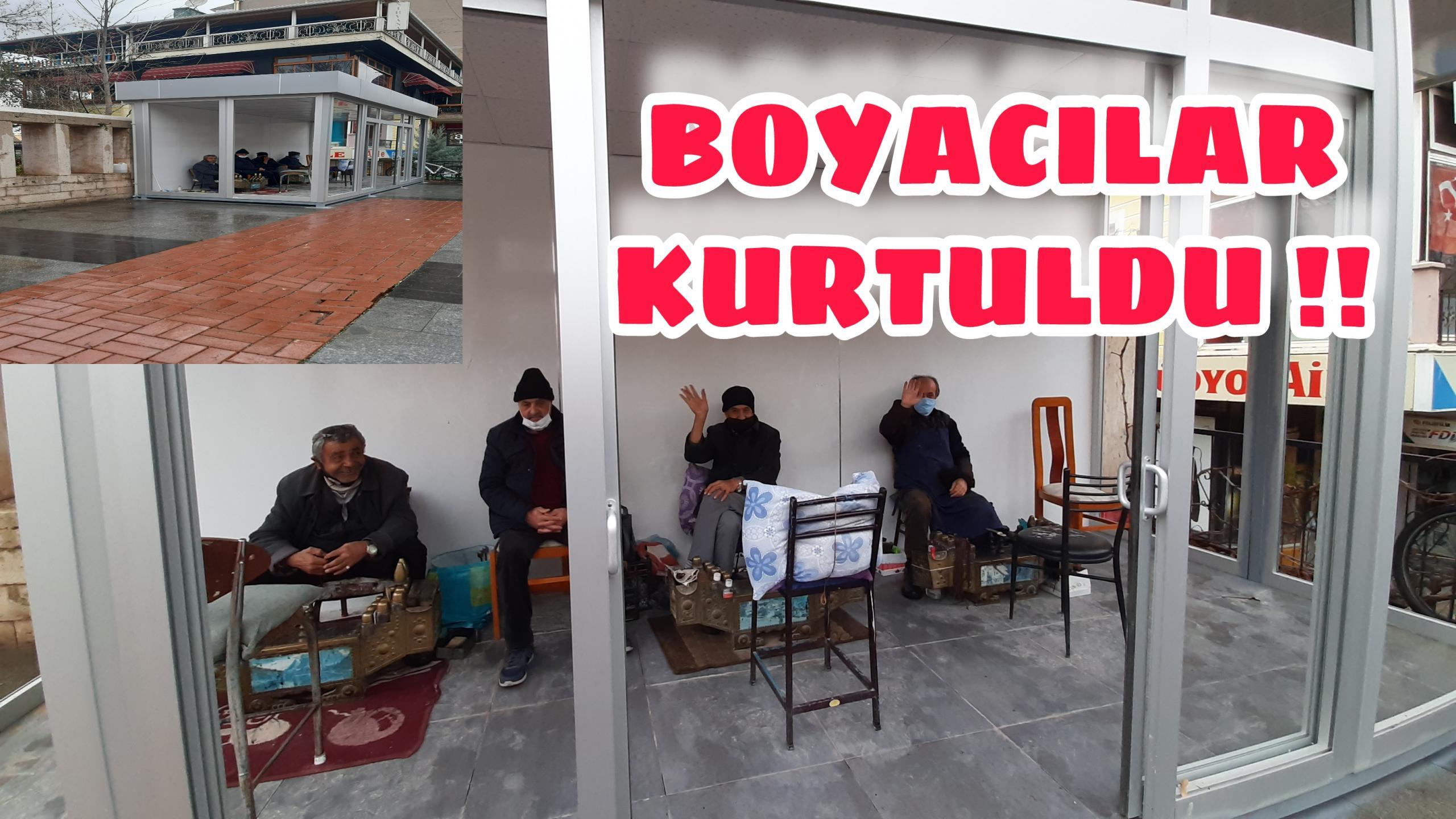 EMEKTAR BOYACILAR KURTULDU !!