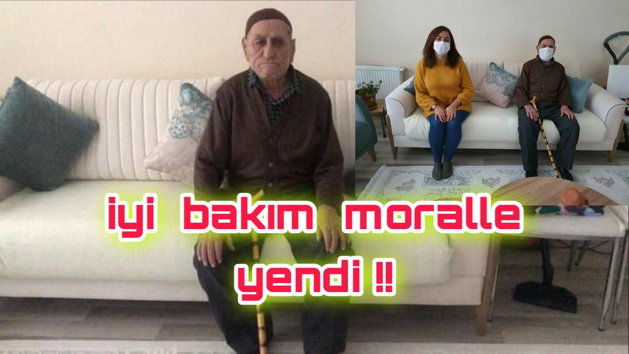 96 lık DEDE CORANAVİRUS e MEYDAN OKUDU !!