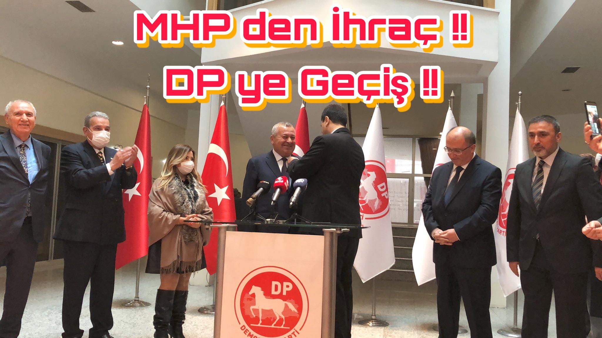 CEMAL ENGİNYURT DEMOKRAT PARTİYE GEÇTİ !!