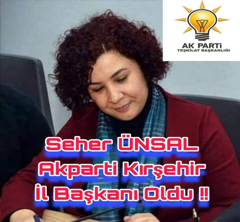 AKPARTİ KIRŞEHİR DE SÜPRİZ BAŞKAN !!