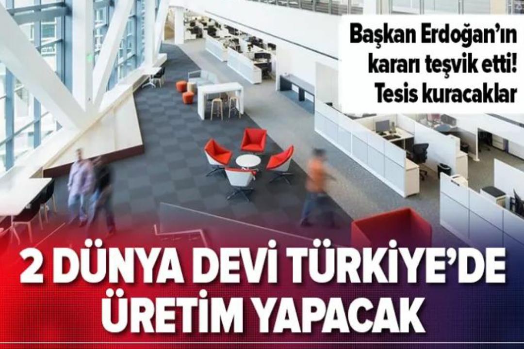 SAMSUNG ve OPPO TÜRKİYE de ÜRETİM YAPACAK !!