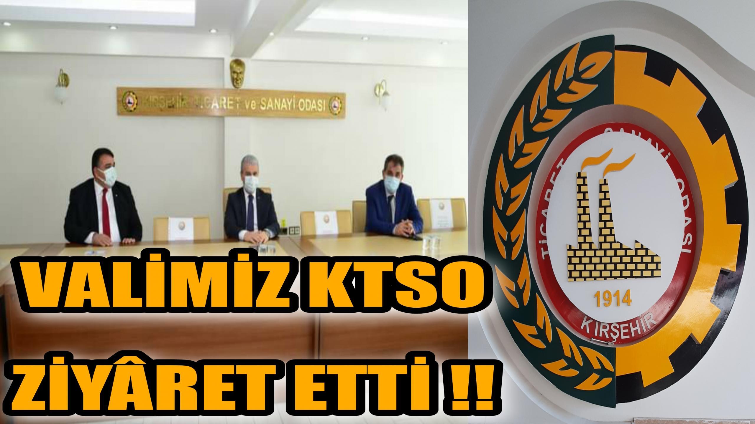 VALİ İBRAHİM AKIN KTSO yu ZİYÂRET ETTİ !!