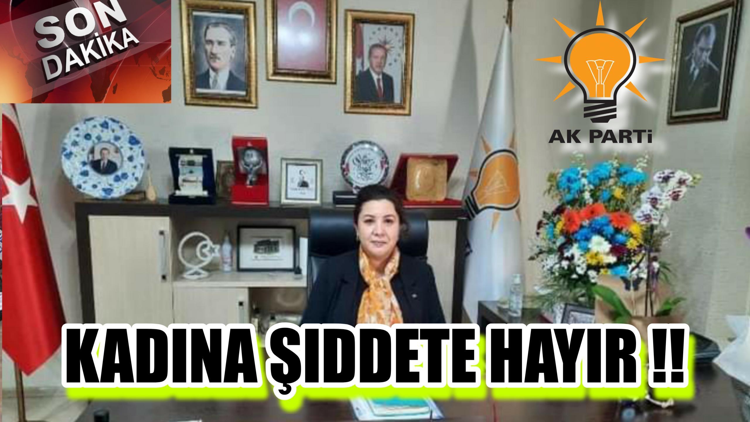 BAŞKAN ÜNSAL KADINA ŞİDDETE ÇÖZÜM VAR DEDİ !!