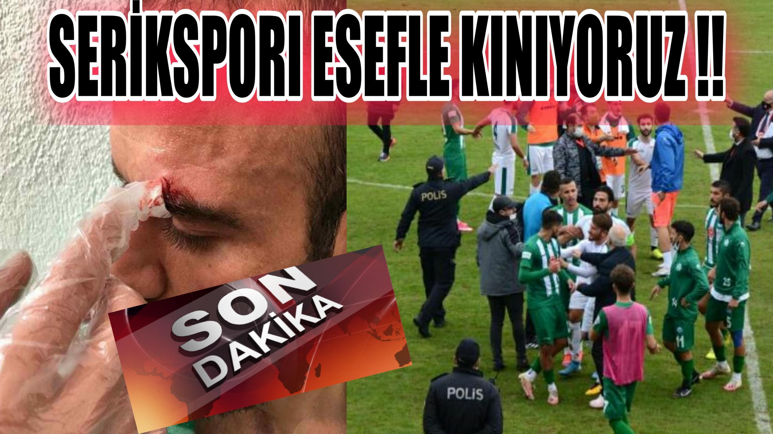 ANTALYA SERİKSPORU KINIYORUZ !!