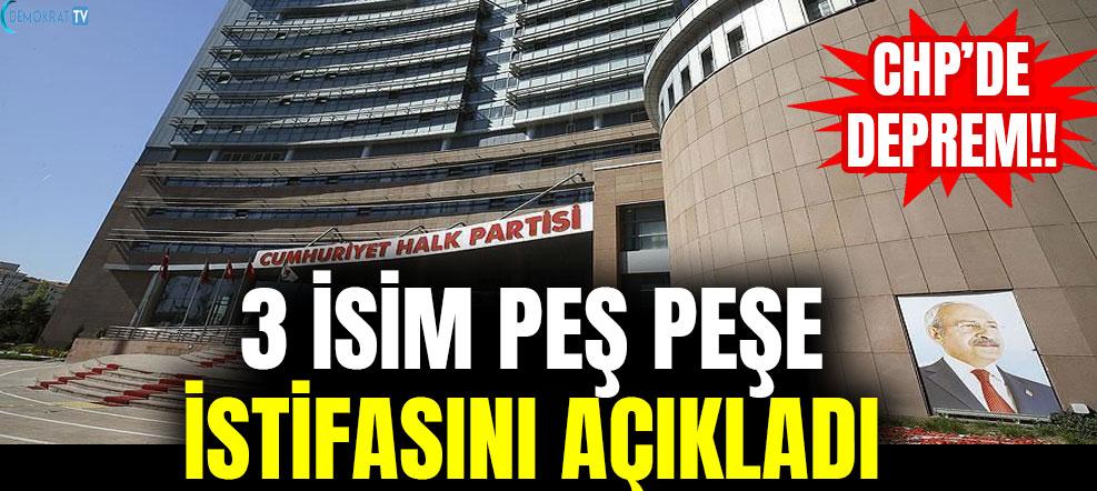 BEKLENEN İSTİFA ZİNCİRİ BAŞLADI !!