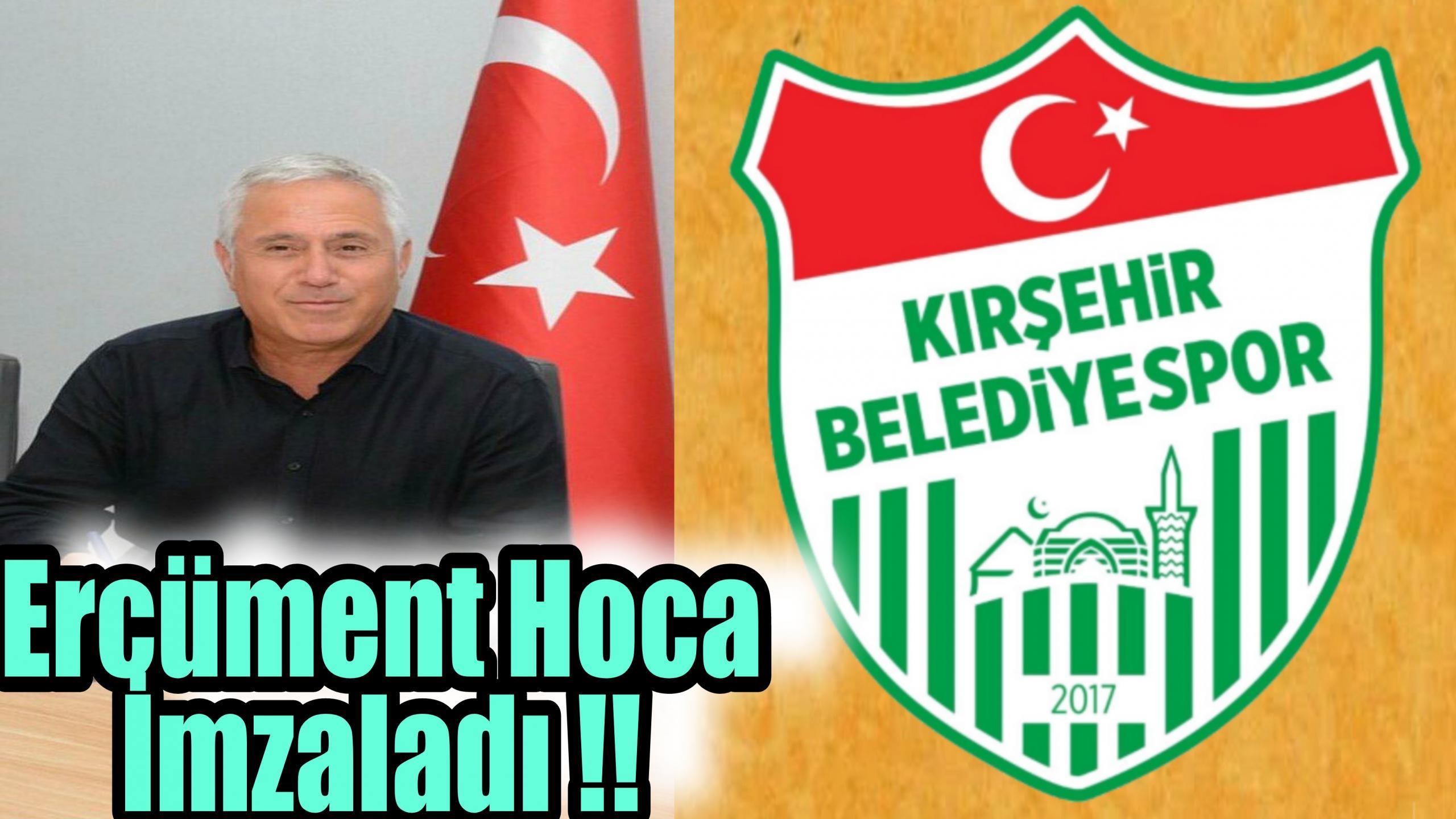 KIRŞEHİR BELEDİYESPOR ERCÜMENT HOCA İLE ANLAŞTI !!