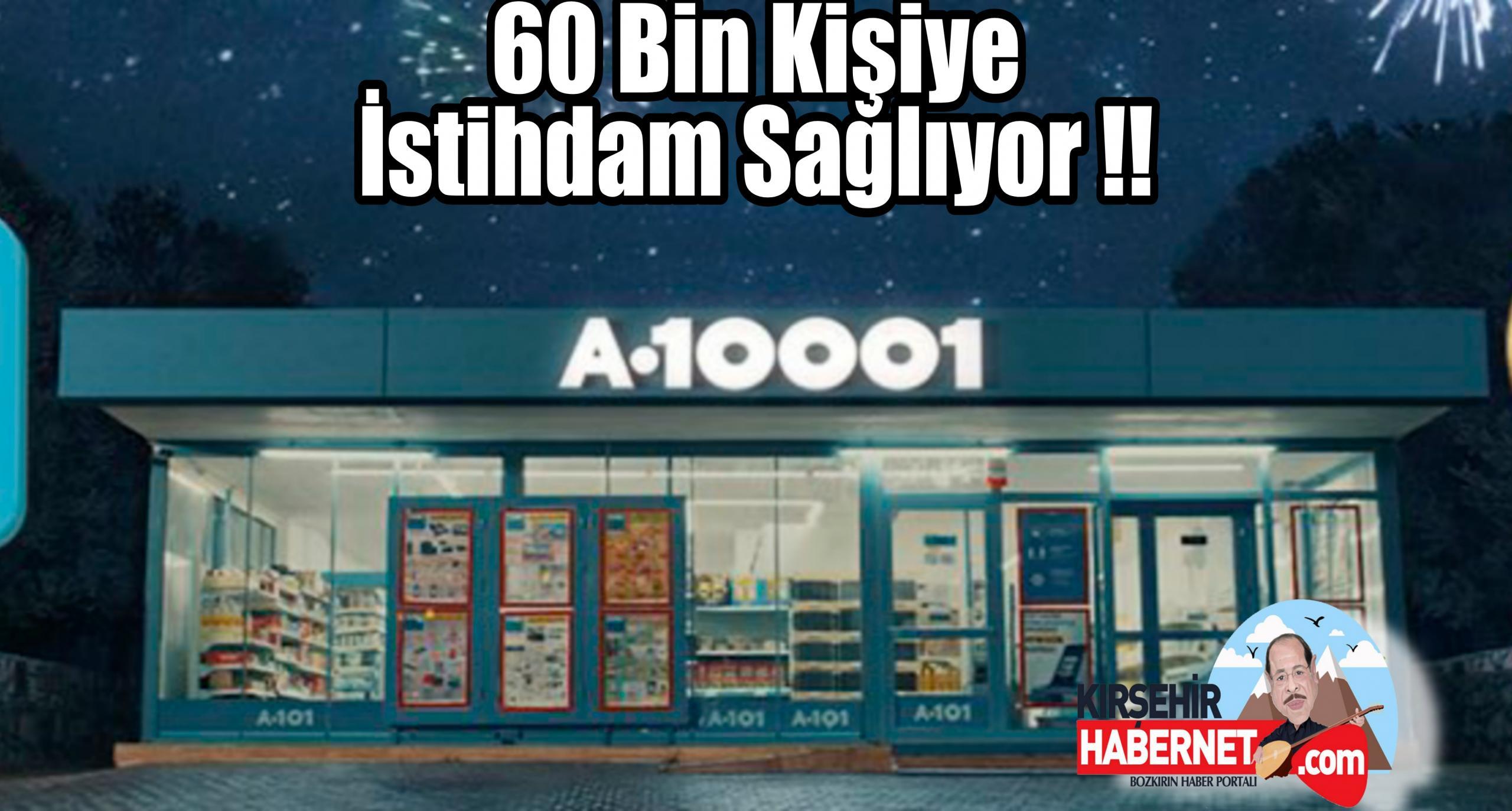 60 BİN KİŞİYE İSTİHDAM !!